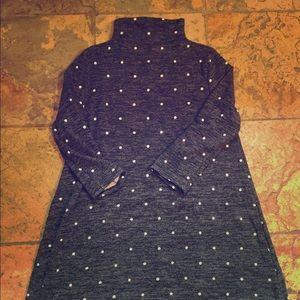 EUC Polkadot Mockneck Dress